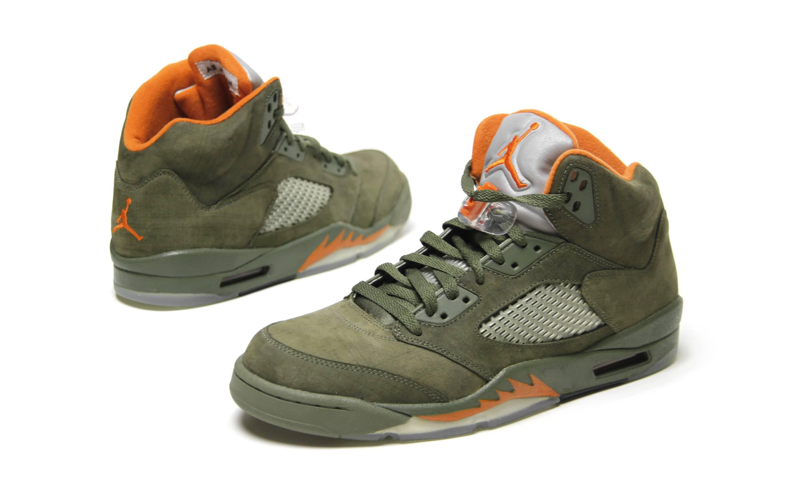 """Air Jordan 5 """"Olive"""""""