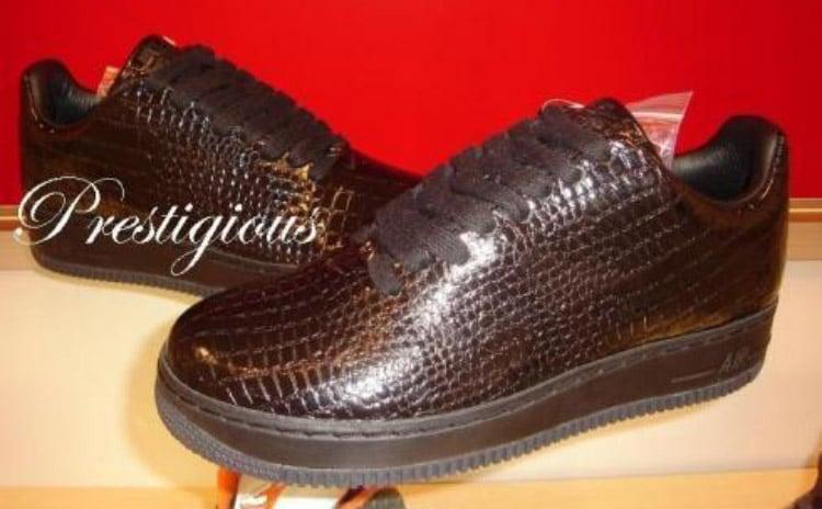 Croc Skin Nike Air Force 1 Supreme