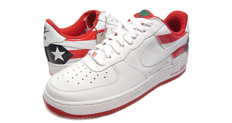 Nike Air Force 1 Premium Puerto Rico PR7 2006 309096-113