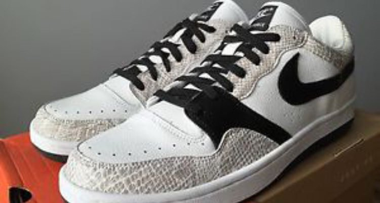 Nike Court Force Low Snakeskin
