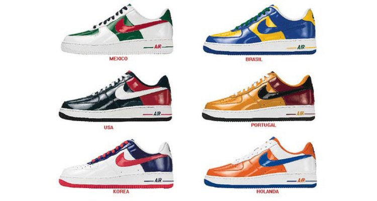 nike air force 1 world cup edition