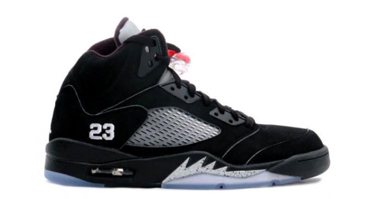 ... Air Jordan 5 Black/SIlver 2007