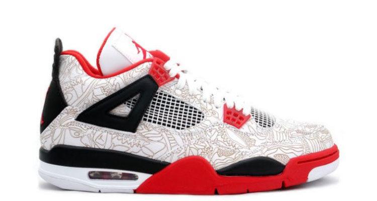 Air Jordan 4 Laser Fire Red