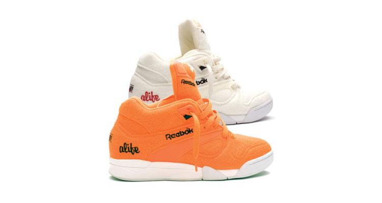 ALIFE x Reebok Court Victory Pump Orange White