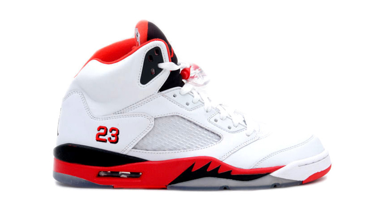 Air Jordan 5 Womens Low White/Silver \u0026middot; Air Jordan 5 Fire Red 2006