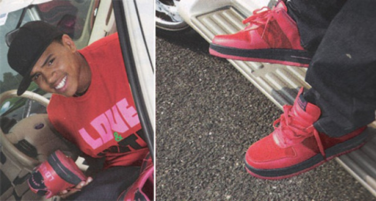 Chris Brown wearing Greedy Genius