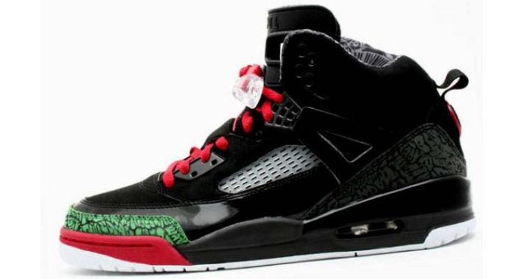 Jordan Spizike Black/Green-Red 315371-061