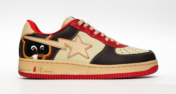 Kanye West x Bape Sta Shoes Collab