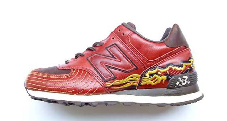 New Balance 574 Golden Dragons