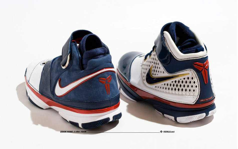 Nike Zoom Kobe II and Kobe Strength USA