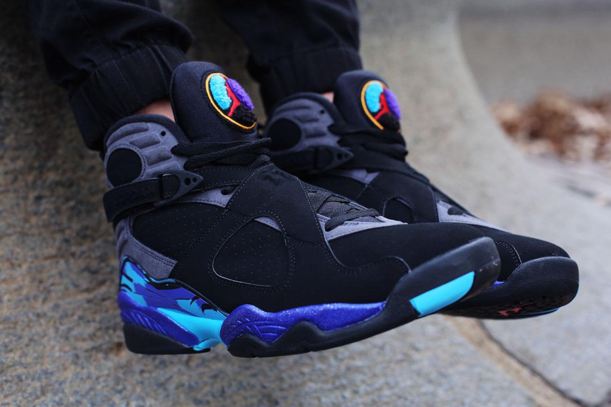 Air Jordan 8 Aqua \
