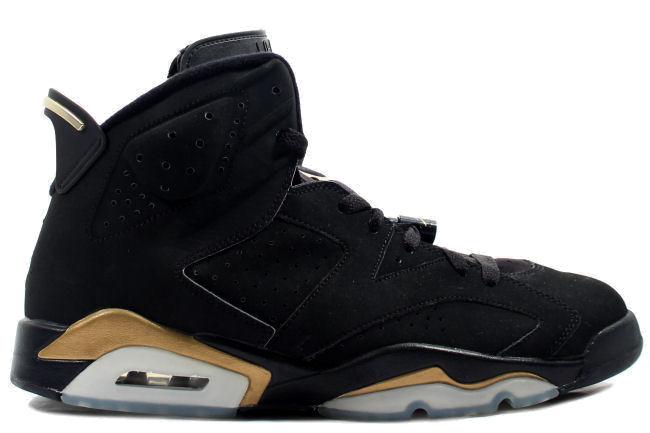 Air-Jordan-6-DMP-Black-Gold