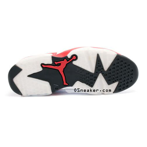 Air Jordan 6 White/Varsity Red