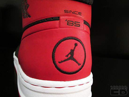 "Air Jordan Alpha 1 ""Bred"""