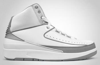 Air Jordan 2 White/Silver Release Date Change