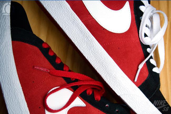 Nike SB Blazer High Varsity Red/White