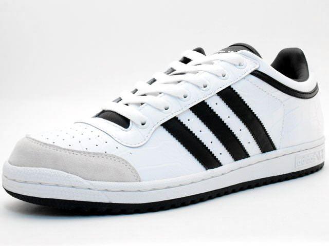 La cabra Billy Interesante dañar  Adidas Top Ten Low White/Grey-Black | Nice Kicks
