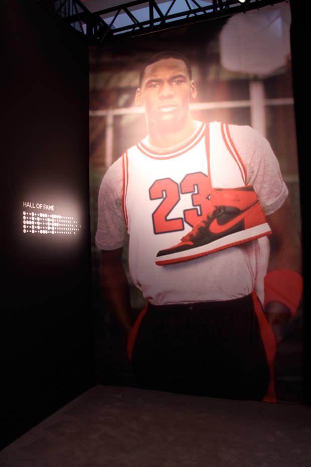 Jordan Brand 23/25 - Mini Hall of Fame entrance