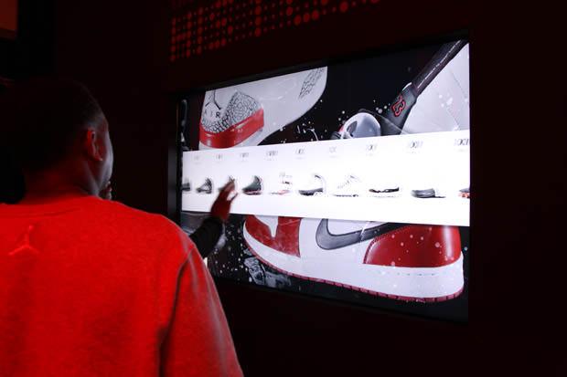 Jordan Brand 23/25 Experience - Interactive Touchscreen