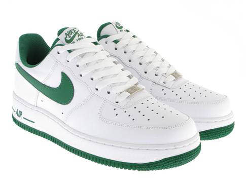 white and green air forces