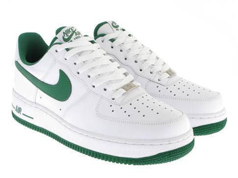 air force 1 white pine green