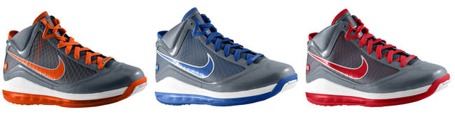 "Nike Air Max LeBron VII ""Cool Grey"" Pack"
