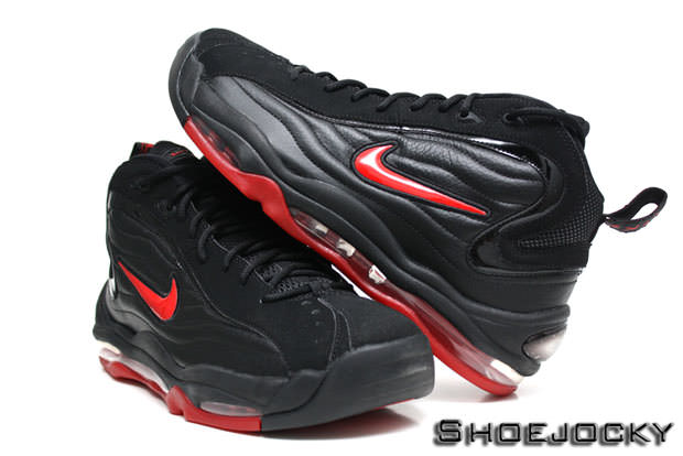 asistente disco Botánico  Nike Air Total Max Uptempo Black/Varsity Red | Nice Kicks