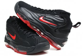 Sur Aguanieve Hubert Hudson  Nike Air Total Max Uptempo Black/Varsity Red | Nice Kicks