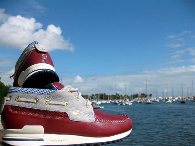 ShoeGallery x Upset Gentlemen x adidas ZX 700 Boat