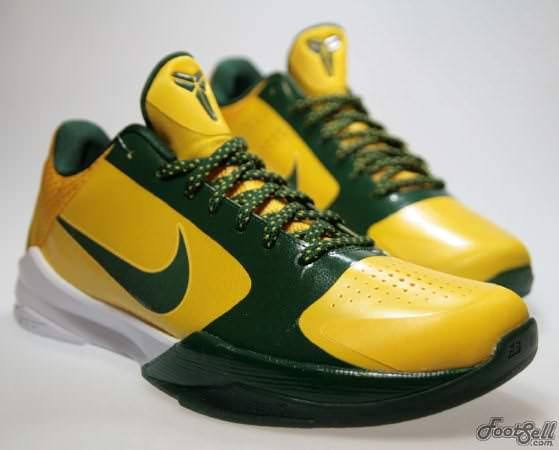 Nike Zoom Kobe V Rice PE ?Away? | Nice