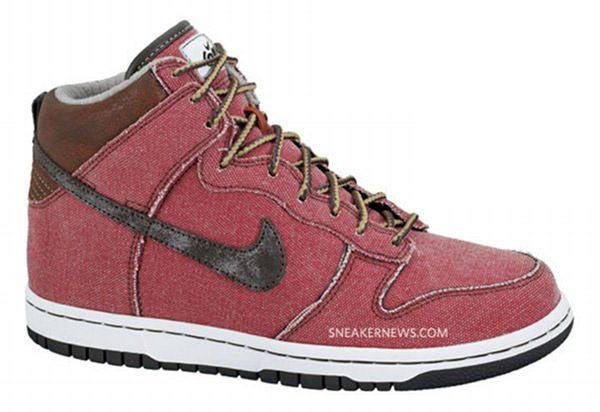 Nike 6.0 WMNS Dunk Hi - Dragon Red
