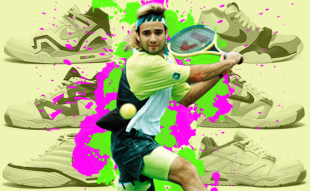 Andre Agassi Love Game
