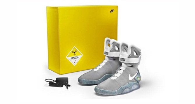 Nike MAG Marty McFly shoes auction live