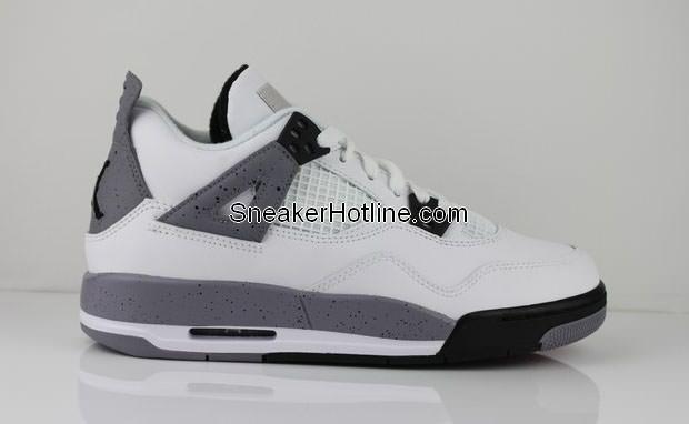 "Air Jordan 4 GS ""Cement"" New Images"