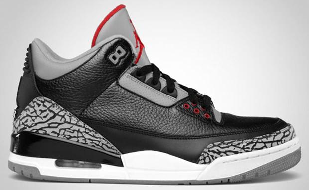 Air Jordan 3 Black/Cement Official