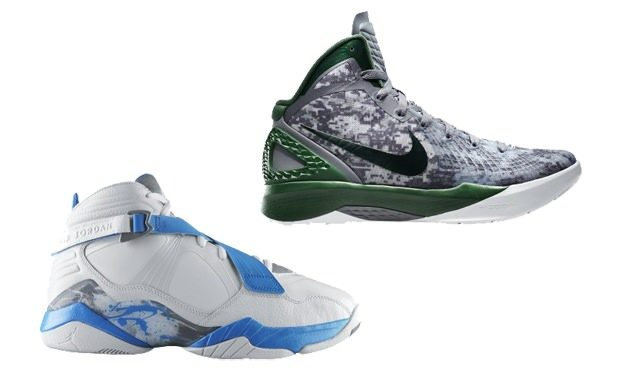 "Nike Zoom Hyperdunk 2011 & Jordan 8.0 ""Carrier Classic"""