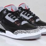 "Air Jordan 3 GS ""Black Cement"""