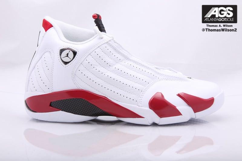 Air Jordan 14 White/Red New Images