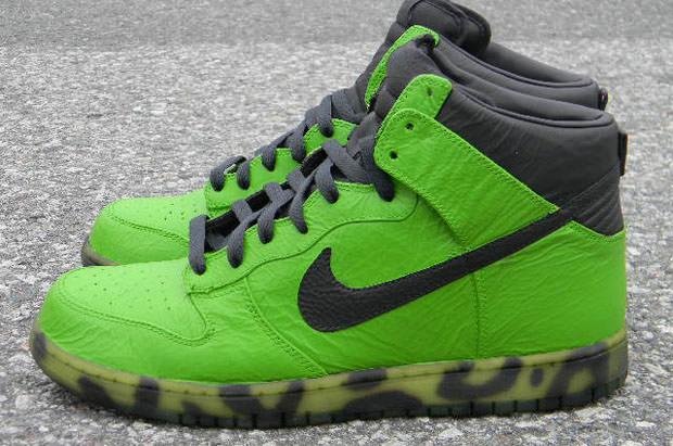 "Nike Dunk Hi ""Toxic Leopard"" Custom"