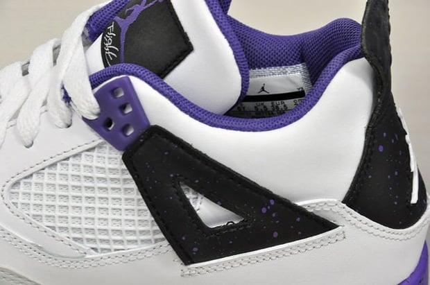 "Air Jordan 4 GS ""Ultraviolet"" Another Look"