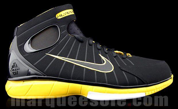 Nike Air Zoom Huarache 2K4 Black/Maize