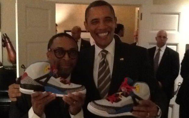 President Obama Receives Jordan Spizike