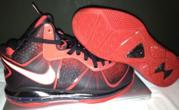 "Nike LeBron 8 V2 ""MVP"" Samples"