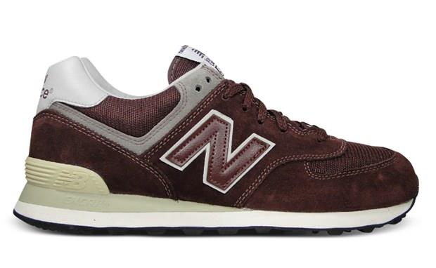 New Balance 574 Bordeaux/Grey | Nice Kicks