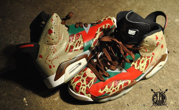 Air Jordan 6 Krueger Custom