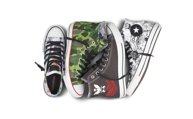 Gorillaz x Converse Chuck Taylor Collection