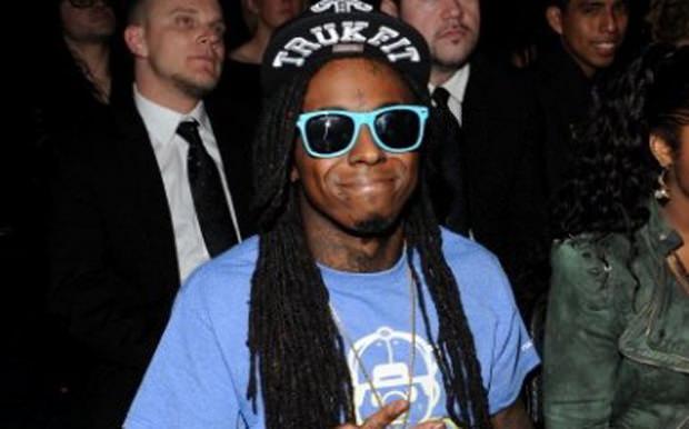Lil Wayne Debuts New Jeremy Scott x adidas at Grammys