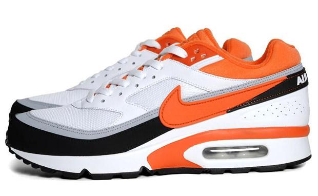 Nike Air Classic BW White/Team Orange