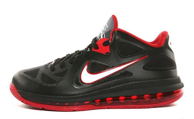 Nike LeBron 9 Low Black/Sport Red
