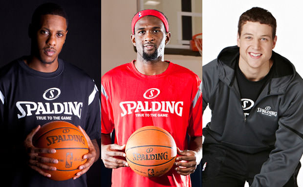 Spalding Signs Jimmer Fredette, Mario Chalmers & Chris Singleton as Brand Ambassadors
